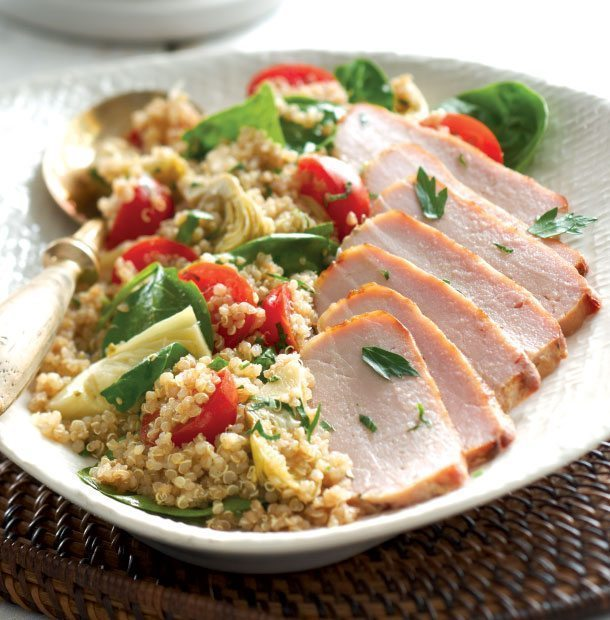 Quinoa Pork Salad