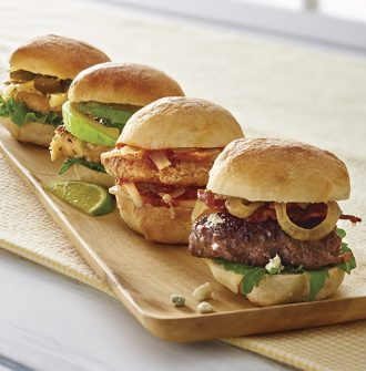 Seasoning Blend Mini Burgers